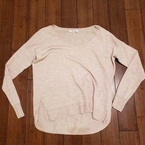100% Merino Wool cream Madewell sweater
